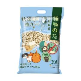 植物之芯豆腐貓砂升級版, 速效強力吸水配方 20L