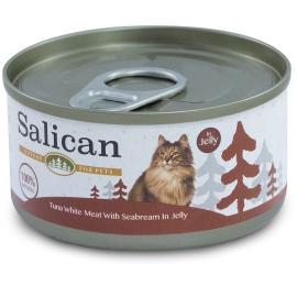 全天然貓主食罐 - Tuna White Meat with Seabream in Jelly (85g)